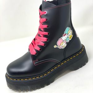 Dr. Martens Jadon Hello Kitty And Friends Boots.